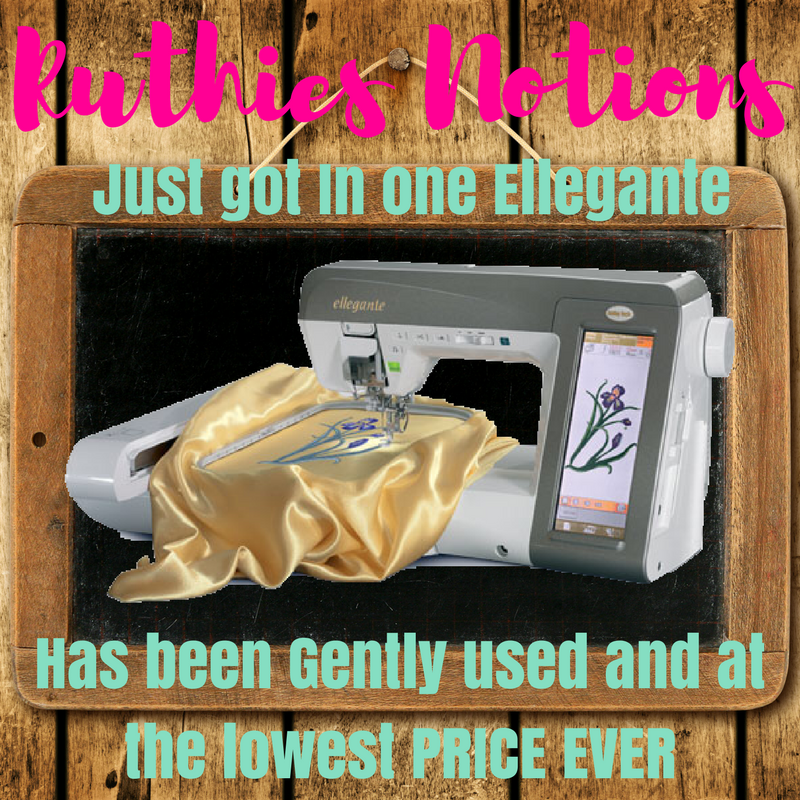 Baby Lock Ellegante Sale