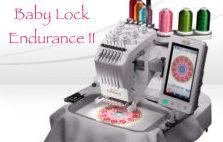 Baby Lock Endurance II Machine