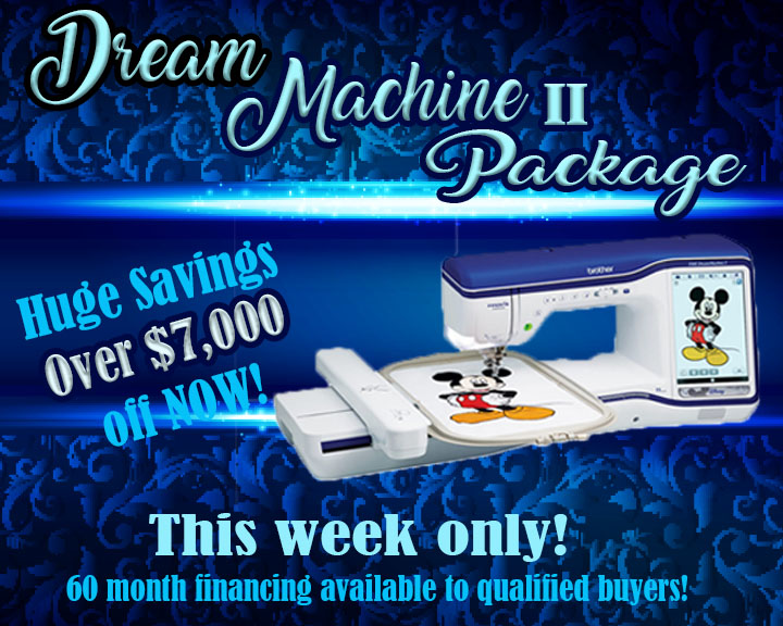 Brother Dream Machine II Deluxe Package