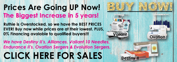 Baby Lock Machine Sales Increase