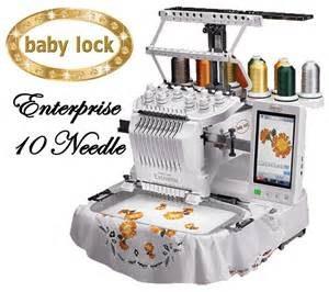 babylock 10 needle embroidery machine price