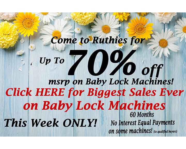 Baby Lock Machines
