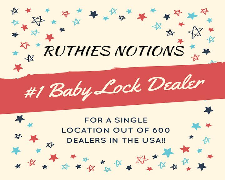 #1 Baby Lock Dealer