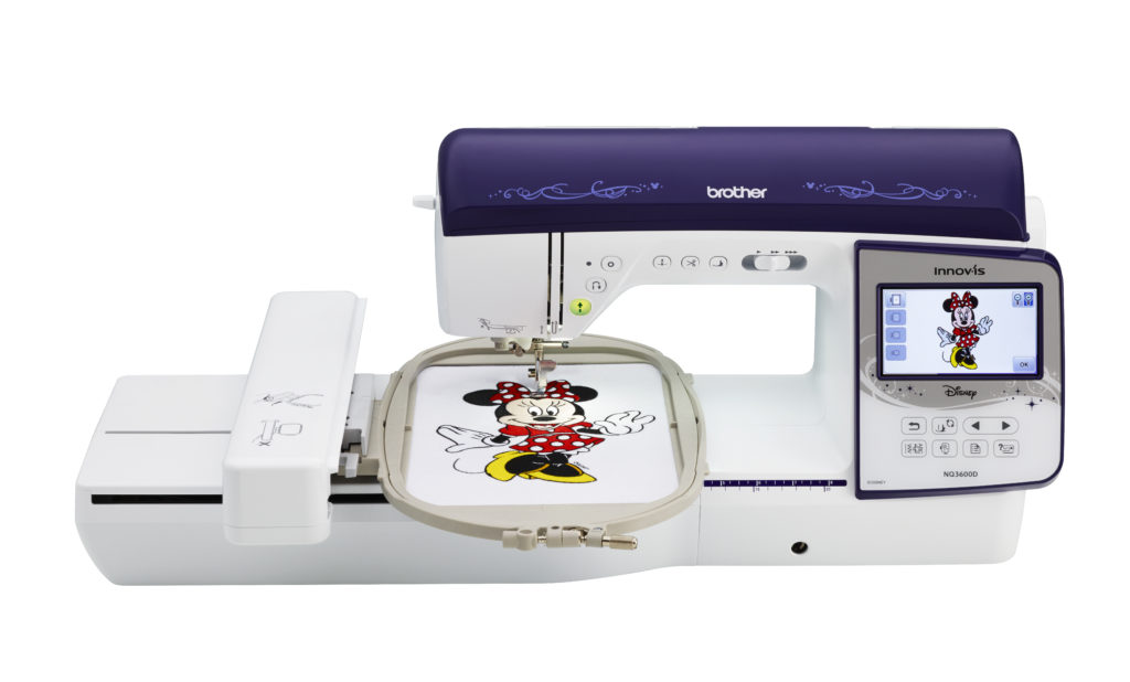Brother Innov Is Nq3600d Embroidery And Sewing Machine
