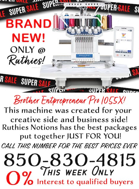 Brother Entrepreneur Pro 1055X Special