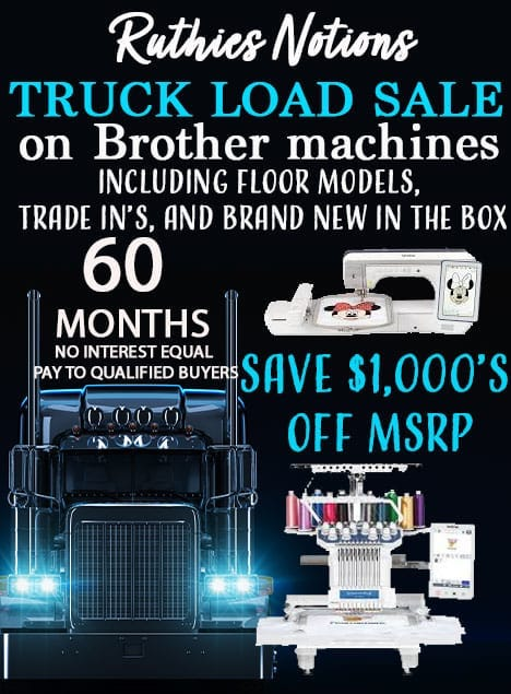 Brother Machine Specials