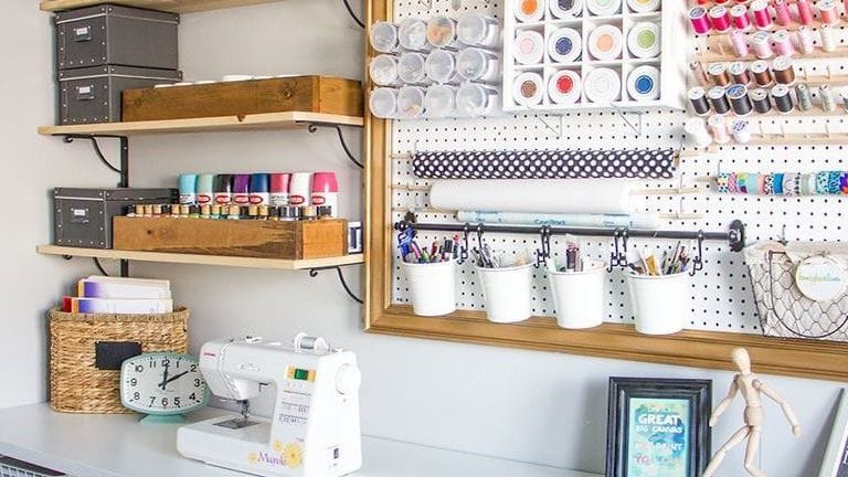 5 Must-Know Sewing Room Organization Tips