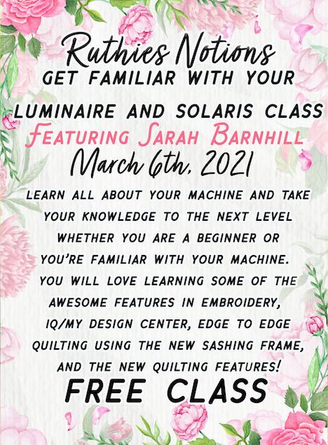 luminaire and solaris class
