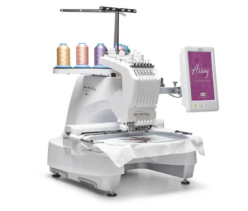 Baby Lock Array Embroidery Machine