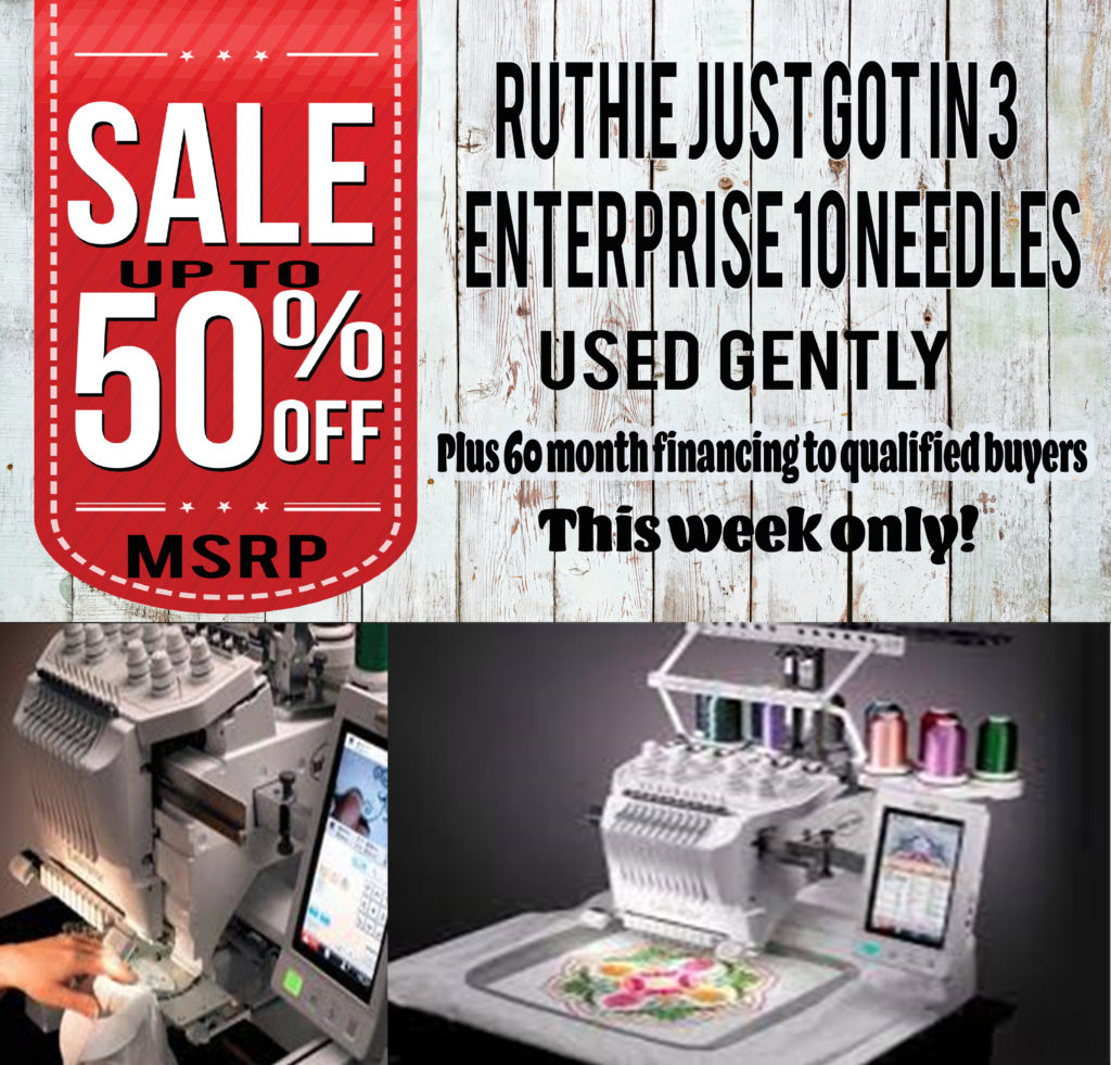 Enterprise Machine Sale