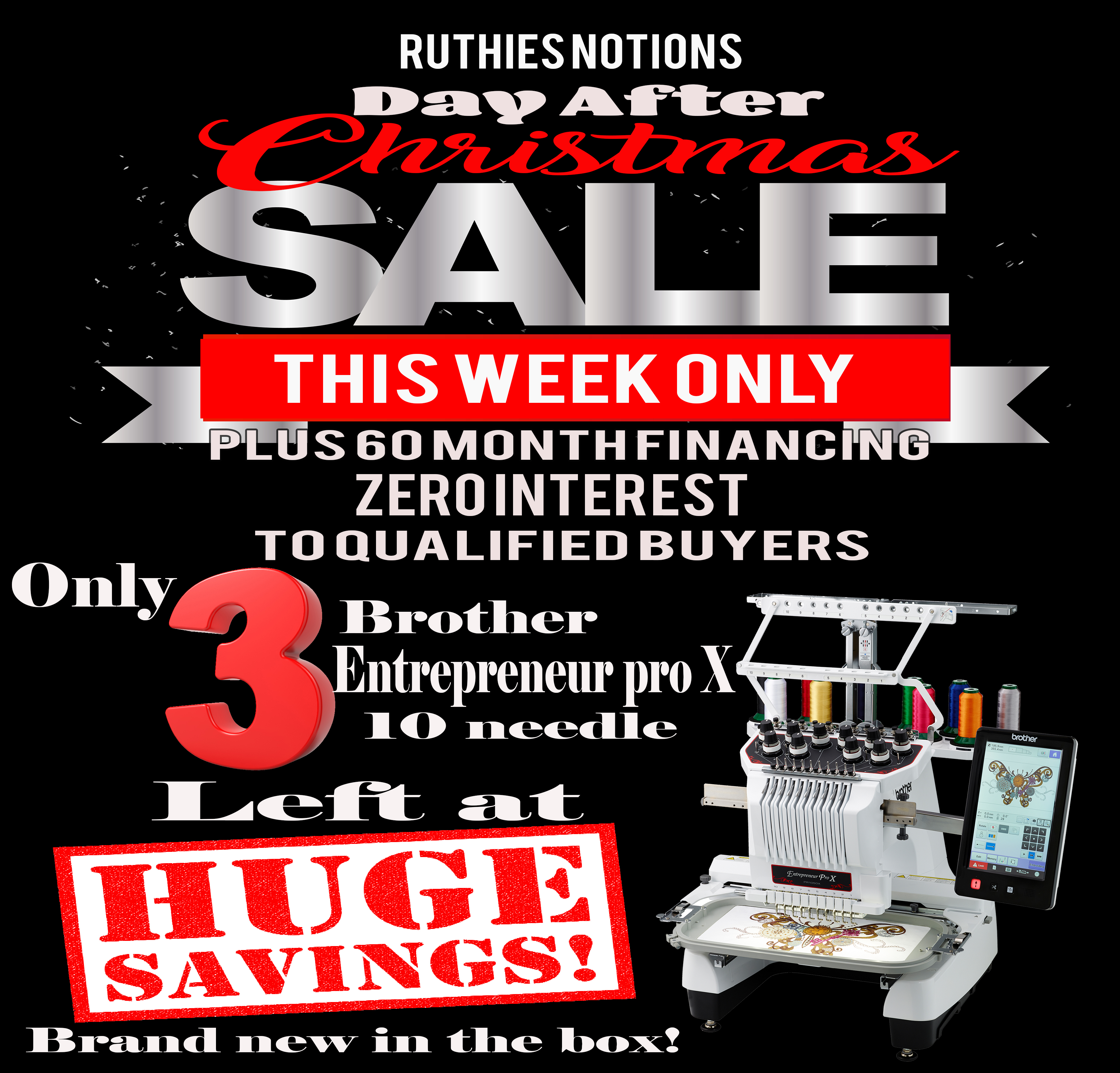 ruthies entrepreneur day after christmas sale ad - Day After Christmas Ads