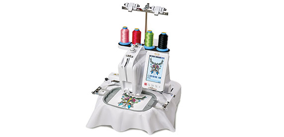 Baby Lock Alliance Single Needle Embroidery Machine