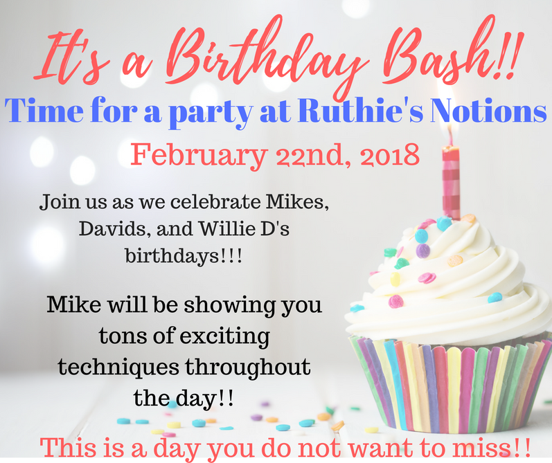 Birthday Bash with Mike Johns
