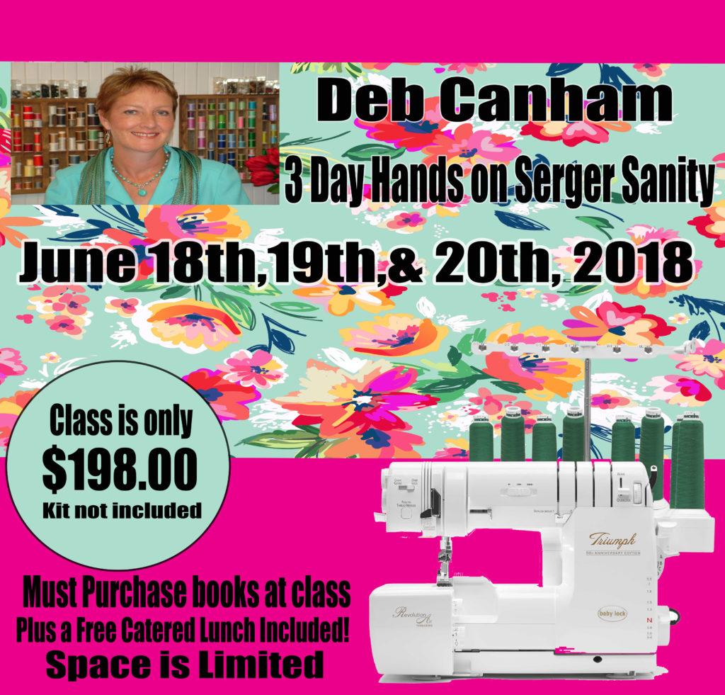 Deb Canham June 18 19 20