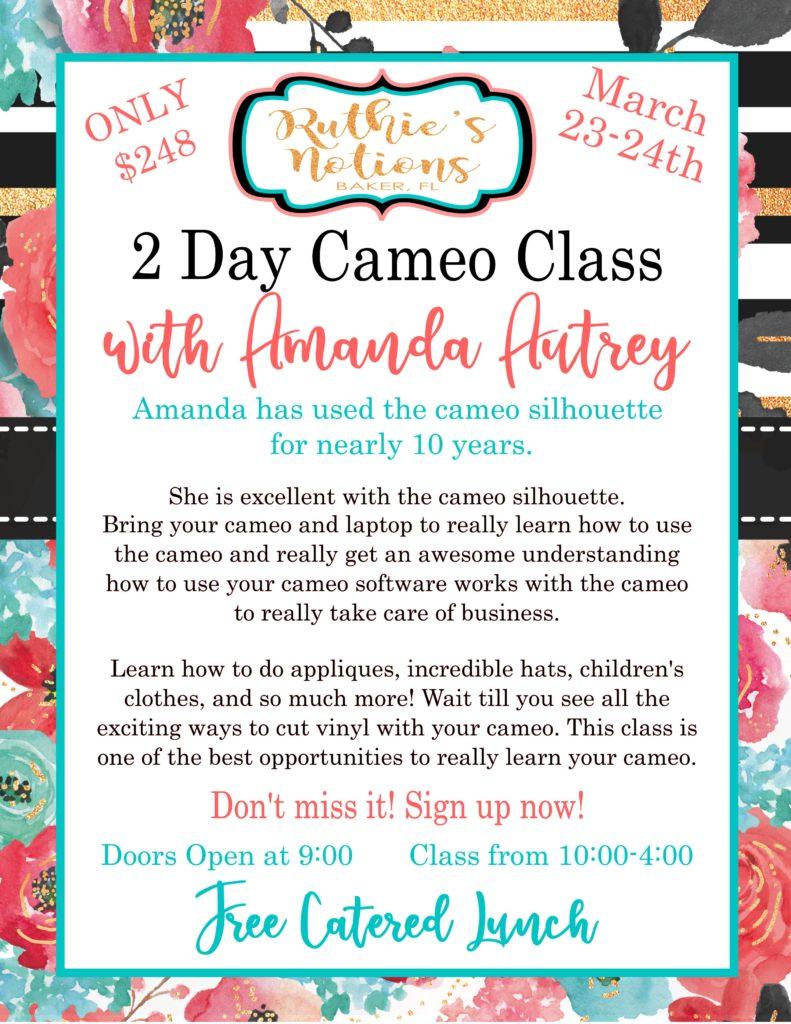 Amanda Autrey Cameo Class