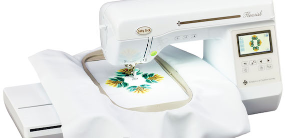 Baby Lock Flourish Embroidery Machine Ruthies Notions