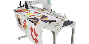 "Coronet 16"" Long Arm Quilting Machine and Frame"
