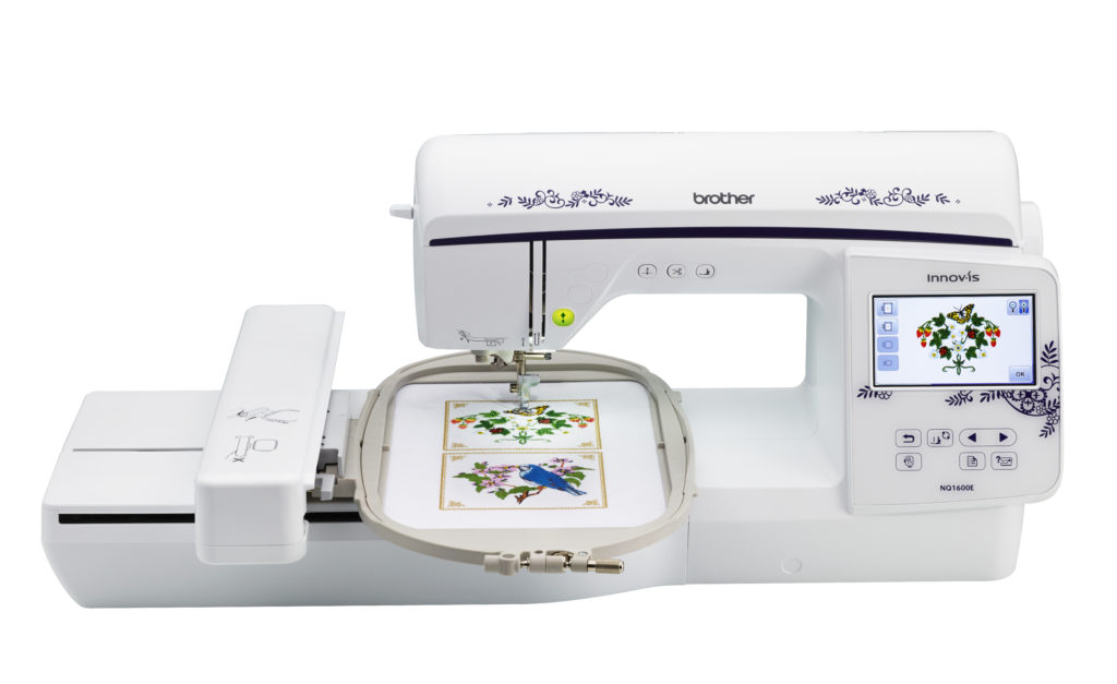 Brother Innov Is Nq1600e Embroidery Machine