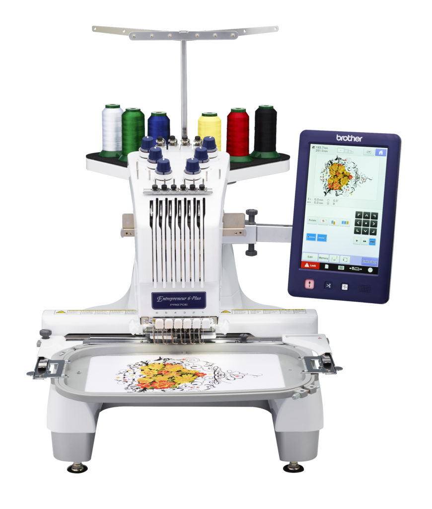 Brother PR670E Entrepreneur 6-Needle Embroidery Machine