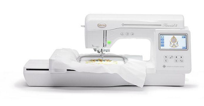 Baby Lock Flourish II Embroidery Machine