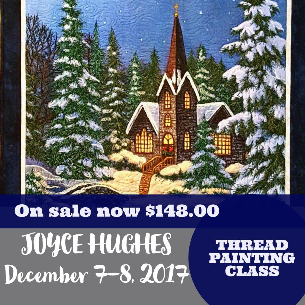 Joyce Hughes Thread Painting Class