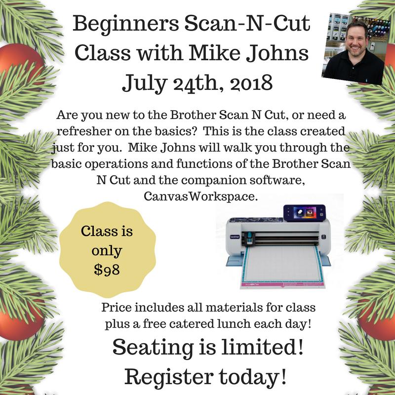 Beginners Scan N Cut Class