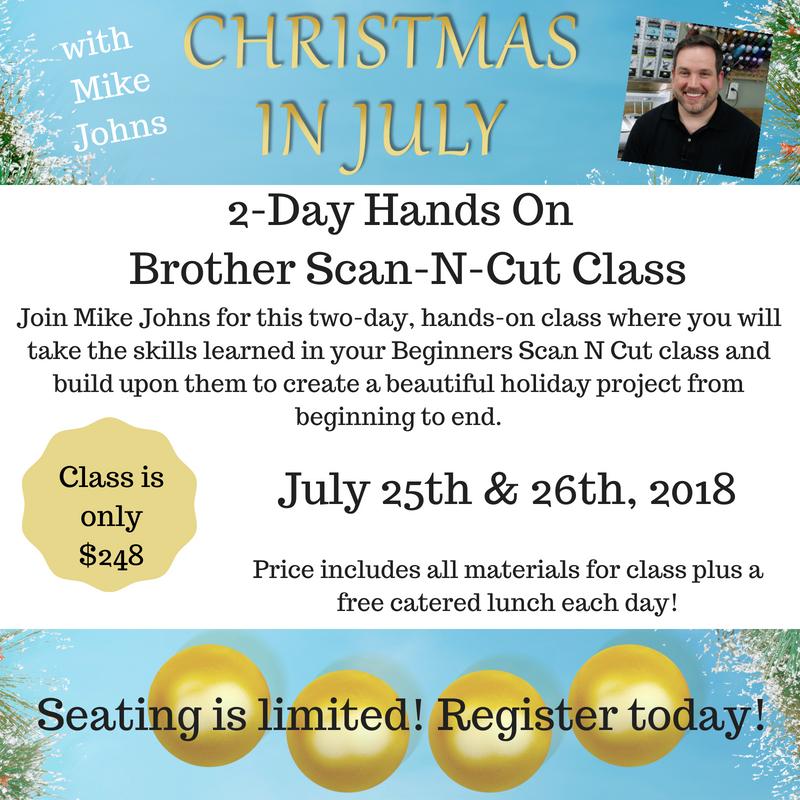 Christmas in July Scan N Cut