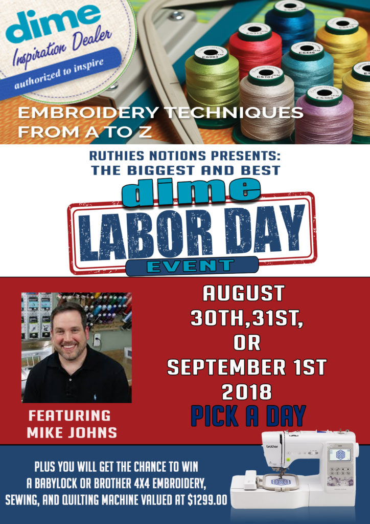 Dime event Labor day