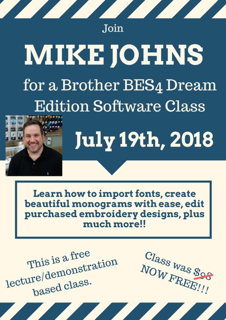 Mike Johns - BES4 Dream Software Class