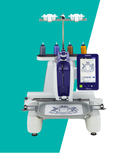Brother PRS100 Single-Needle Embroidery Machine