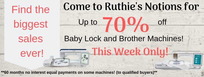 70% off at Ruthies
