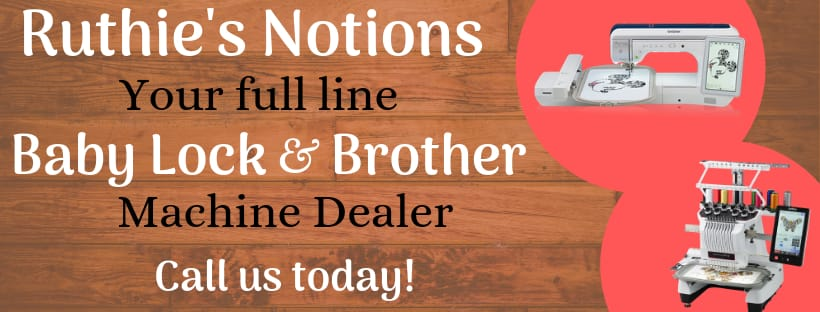 Full Line Baby Lock and Brother Dealer