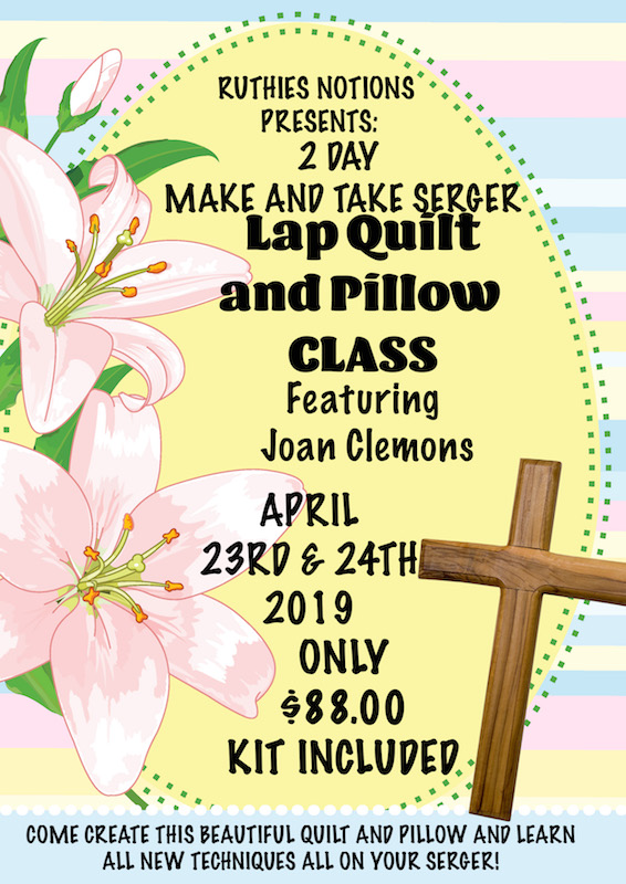 Lap Quilt and Pillow with Joan Clemons
