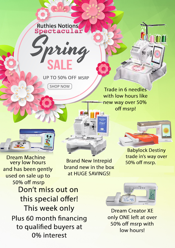 spring spectacular trade in