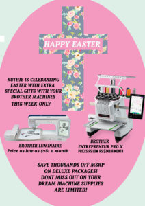 Brother Machine Easter Sale