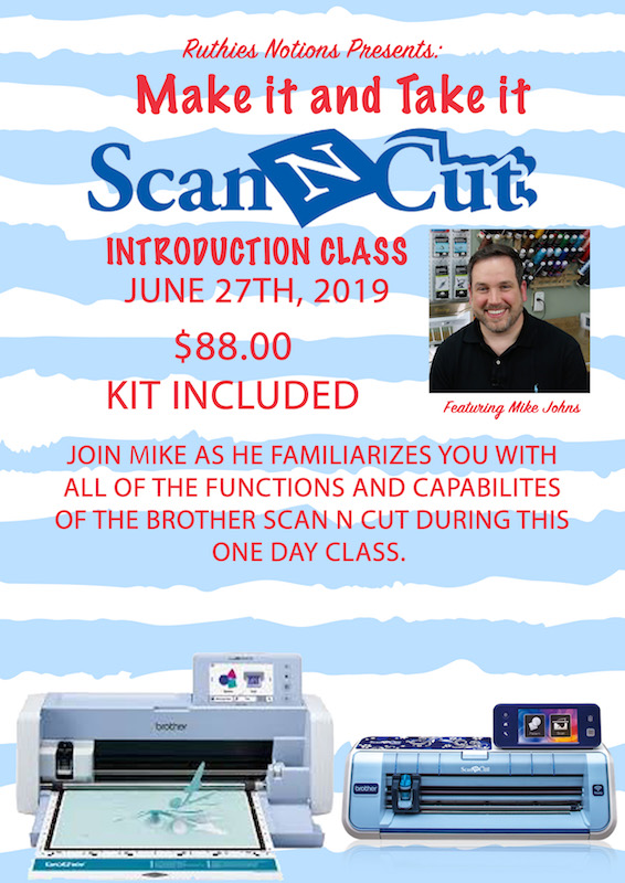 Scan N Cut Intro With Mike Johns 6-27