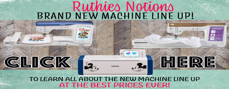 Ruthies New Machines Brother and Baby Lock