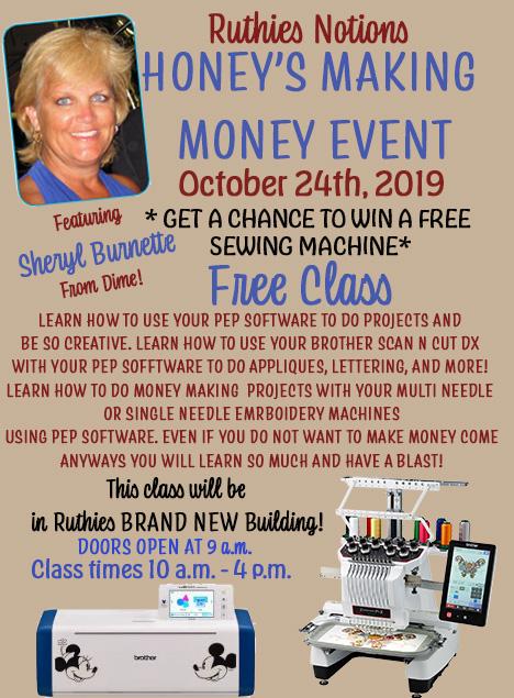 Honeys Making Money Event with Sheryl Burnette