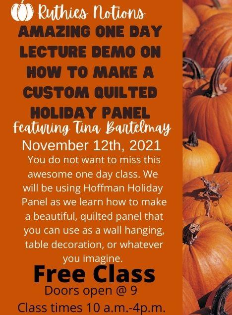 Lecture Demo Nov 12th